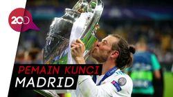 Dua Gol Spektakuler Bale Antar Madrid Juara