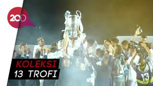 Momen Real Madrid Pamer Si Kuping Besar