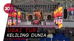 Suka Cita St Petersburg Sambut Trofi Piala Dunia