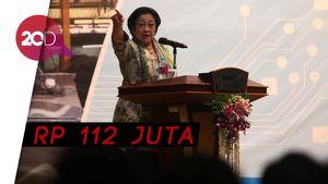 Gaji Megawati Mengalahkan Gaji Jokowi