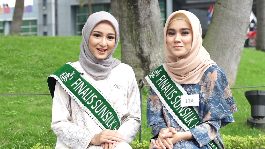 Cerita Fadila dan Ira Pertama Kali Pakai Hijab