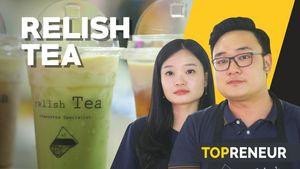Relish Tea, Cita Rasa Teh Keju yang Bikin Penasaran