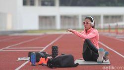 Kapan Jagoan 100 Meter Lari Gawang Indonesia Ini Menikah?
