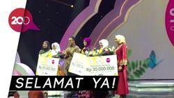 Arek Surabaya Jadi Juara Sunsilk Hijab Hunt 2018