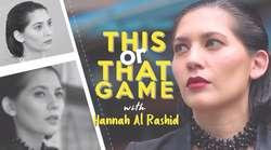 Romantis atau Cuek, Hannah Pilih Mana?