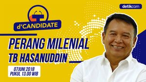 Saksikan dCandidate: Perang Milenial Tb Hasanuddin