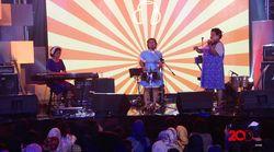 Aksi Jenaka Nonaria di dHot Music Day