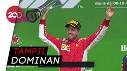 Sebastian Vettel Jadi yang Tercepat di GP Kanada