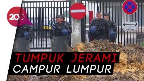 Petani Prancis Blokade Kilang Milik Total Gara-gara Minyak Sawit
