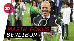 Timnas Prancis Bukan Alasan Mundurnya Zidane dari Madrid