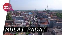 Melihat  Lalin Jalan Raya Bandung yang Mulai Diserbu Pemudik