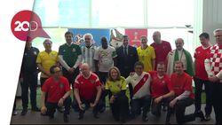 Euforia Piala Dunia di Markas DK PBB