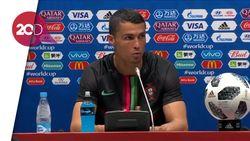 Ronaldo Puas Bisa Imbangi Spanyol