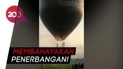 Stop! Terbangkan Balon Udara Raksasa