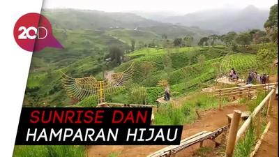 Libur lebaran 2018, Cukul Sunrise Point Pangalengan, instagramable