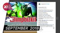 Limp Bizkit Akan Guncang GWK Bali Indonesia