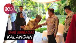 Rame Banget! Suasana Open House Wapres JK di Makassar