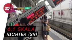 Gempa di Osaka, 2 orang Tewas