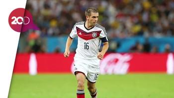 Lahm Sebut Jerman Perlu Kekalahan Agar Lebih Kuat