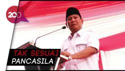 Prabowo: Sistem Negara Indonesia Sudah Menyimpang