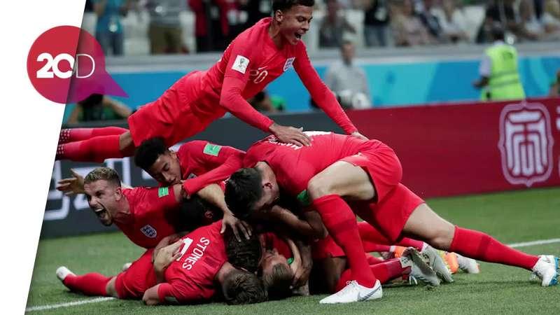 Kesabaran Jadi Kunci Kemenangan Inggris atas Tunisia