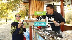 Aksi Usil Penjual Es Krim di Istanbul