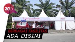 Posko Wuling Motors Indonesia Manjakan Konsumen