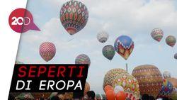 Kerennya Festival Balon Udara di Wonosobo!