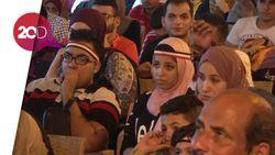 Ratapan Pendukung Mesir Usai Digebuk Rusia