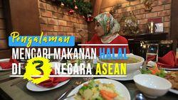 Pencarian Makanan Halal di 3 Negara Asia
