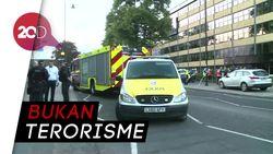 Ledakan di Stasiun Bawah Tanah London, Seorang Pria Diamankan