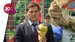 Iker Casillas Jajal Lapangan Hijau di Rusia