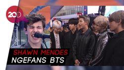 Shawn Mendes Janji Bakal Kolaborasi Bareng BTS
