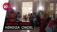 Meriahnya Dekorasi Balai Kota dalam Perayaan HUT DKI Ke-491
