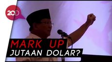 Ini Pidato Prabowo yang Tuding Ada Mark Up di Proyek LRT