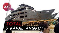 Menhub Pastikan Kapal Feri Ro-Ro di Toba Samosir Beroperasi November