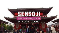 Mengunjungi Kuil Terbesar dan Tertua di Tokyo