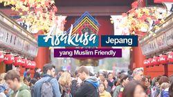 Asakusa, Jepang yang Muslim Friendly