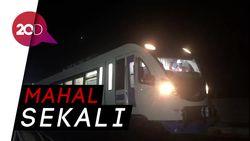 Biaya Pembangunan LRT Indonesia Vs Dunia