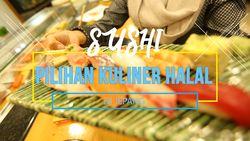 Menikmati Hidangan Sushi Halal Di Tokyo Jepang