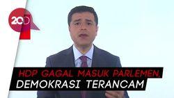 Dari Balik Bui, Capres Demirtas Sebut Demokrasi Turki Terancam