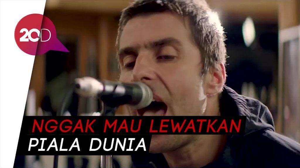 Liam Gallagher Majukan Penampilannya demi Nonton Inggris