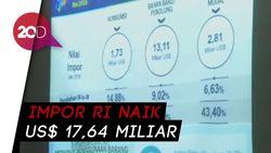 Mei 2018, Neraca Perdagangan RI Defisit US$ 1,52 Miliar