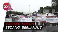 Protes pengkosongan 10 Rumah, Warga Unjuk Rasa Depan Istana