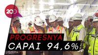 Tinjau Proyek MRT Jakarta, Menlu Jepang Blusukan ke Terowongan