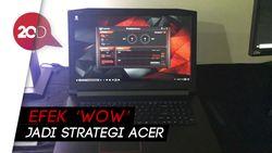 Acer Pede Notebooknya Lebih Baik dari Apple
