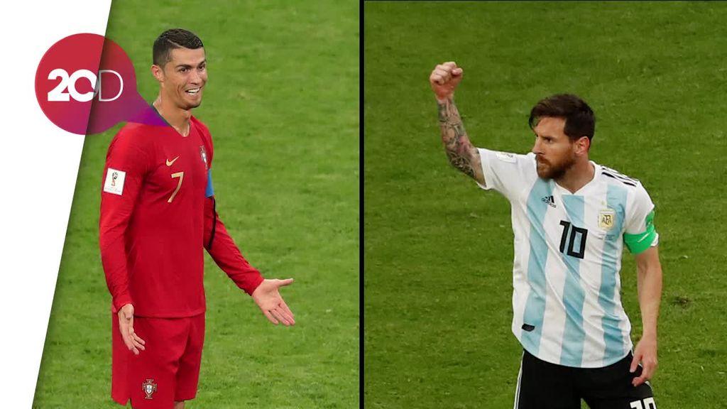 Adu Mewah Rumah Messi dan Ronaldo