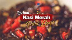 Lesehan Nasi Merah Pari Gogo