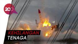 Duh! Roket Jepang Ini Meledak Usai Lepas Landas