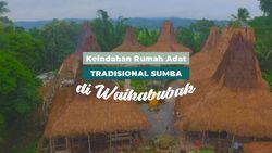 Keindahan Rumah Adat Tradisional Sumba di Waikabubak